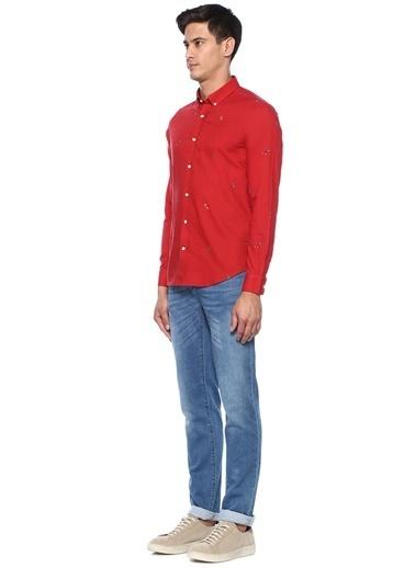 Beymen Club Gömlek Kırmızı